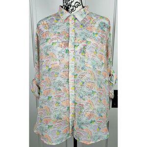 Victoria's Secret Button Front Shirt Large